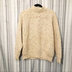 Banana Republic Rare Chunky Marled Knit Sweater L